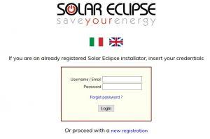 Solar Eclipse - Portale di assistenza tecnica - Lingua inglese