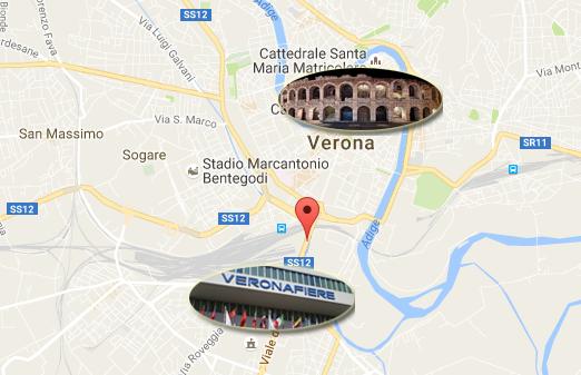 Mappa Hotel Leon d'Oro