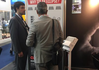 Intersolar Europe 2018 - Solar Eclipse stand